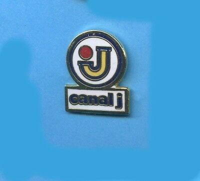 Pins  Television Tv Canal J  France    C344