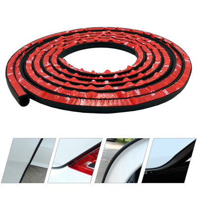 Car Motor Door Small D-shape Rubber Seal Weather Strip OEM Hollow 13FT 4M US