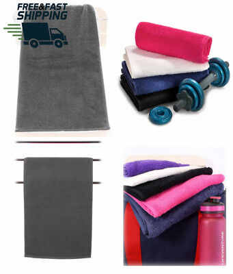 Aztex Deluxe Gym Towel, 30 x 90cm, 100% cotton for sports, gym, hiking and...