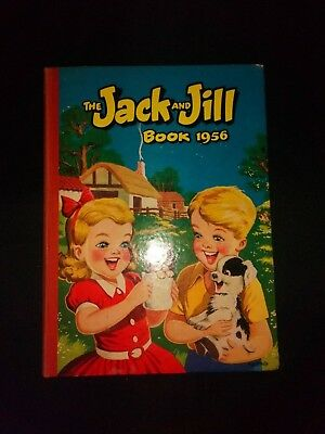 Jack And Jill Book 1956  Vintage Children's Annual