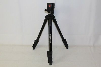 Manfrotto Compact Action Aluminum Tripod MKCOMPACTACN-BK - Black *READ*