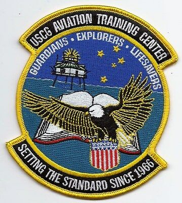 United Staters Coast Guard (USCG) patch Aviation Training Center 4-1/2X3-7/8