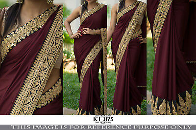 Real Pic Atta.Bollywood Indian Ethnic wear Designer New Saree Wedding Partywear
