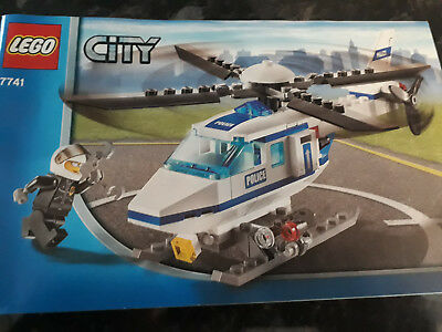 Lego City Police 7741 Police Helicopter With Pilot 2008 100