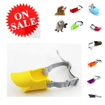 Anti Bite Duck Mouth Shape Dog Mouth Covers Anti-called Muzzle Silicone Masks