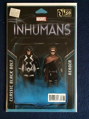 All New Inhumans #3 Action Figure Variant Marvel Comics NM 2016