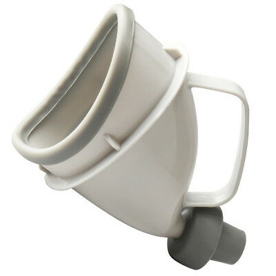 Unisex With Handle Portable Urine Bottle Urinal Funnel Mobile Toilet