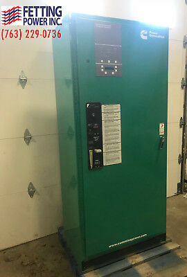 400 Amp Cummins BTPCC Bypass Automatic Transfer Switch 480V | S/N: E17M191024