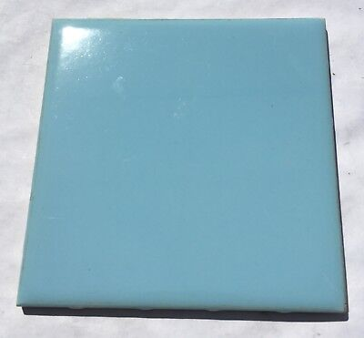 Twilight Blue 4x4 Vintage Ceramic Tile 'NTK Made in Japan' -1Sq Ft- Salvaged
