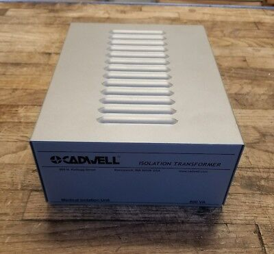 CADWELL ISOLATION TRANSFORMER Medical Isolation Unit 800VA 6-IEC Plugs