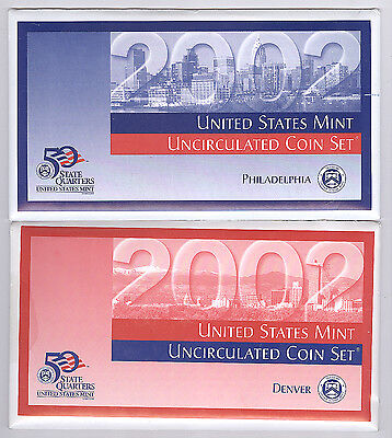 2002 United States Mint Uncirculated Coin Set
