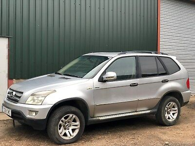 Left Hand Drive 2010 Shaunghuan Ceo 2.4 Petrol 4X4 Lhd Spares Or Repairs