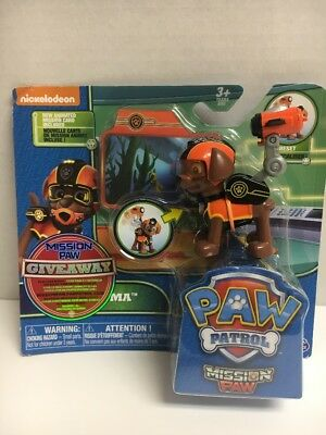 NEW Paw Patrol ZUMA  Mission Paw Action Pack  pup FAST SHIP