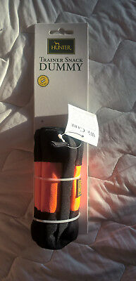 Hunter Trainer Snack Dummy Futterdummy Futterbeutel Gr. S orange NEU!