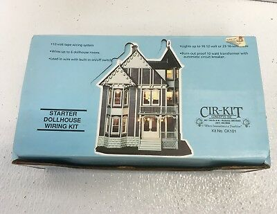 Cir-Kit Concepts Inc. Dollhouse Starter Lighting Wiring Kit Construction CK101