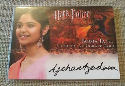 Harry Potter Goblet of Fire Update Afshan Azad as Padma Patil Auto