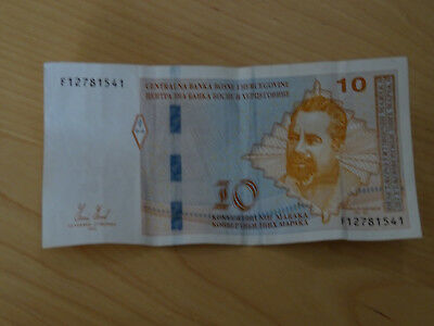 Bosnien Herzegowina Original 10 Mark