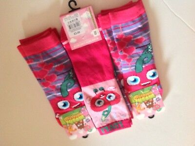 Moshi Monsters Girls Ankle Socks! 2 Pairs Pack!