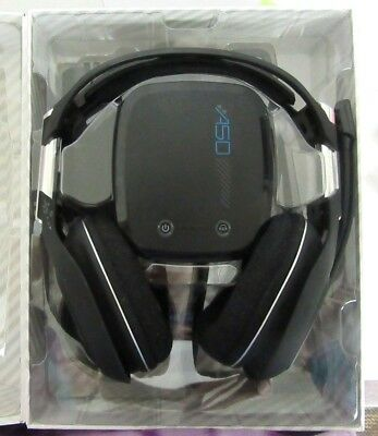 ASTRO A50 Wireless Gaming Headset for PS4/PS3/PC/Mac - Black (2014 model)