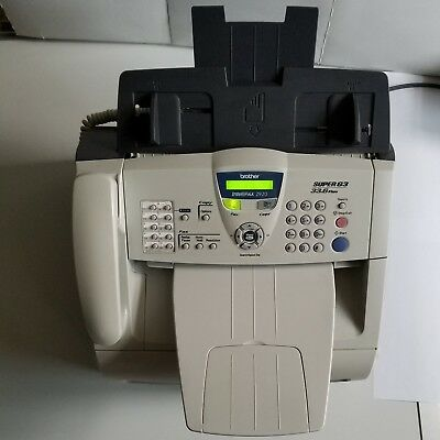 Brother IntelliFAX-2920 Laser Printer Copier Fax Phone - super low page count