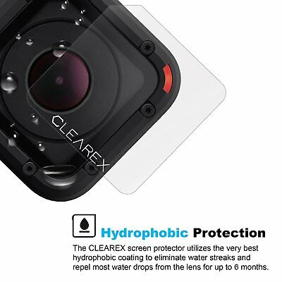 Hydrophobic Screen Protector for GoPro Hero Session 4 & 5 by Clearex | Water Rep