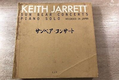 10 LP Box Set Keith Jarrett ‎– Sun Bear Concerts ECM 1100 GERMAN RECORD 1978