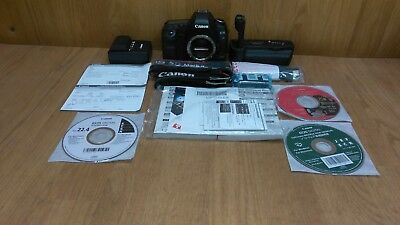 Canon EOS 5D Mark II w/ 2 Straps & 2 Batteries & Charger & Battery Grip