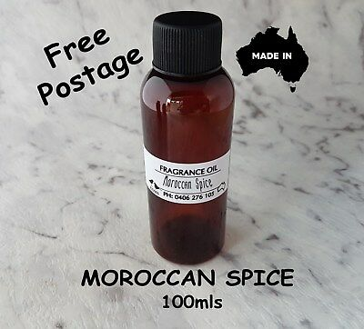 "Top Quality ""moroccan Spice"" Fragrance Oil-100Mls - Candles, Melts"