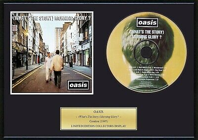 OASIS - Framed CD Presentation Disc Display