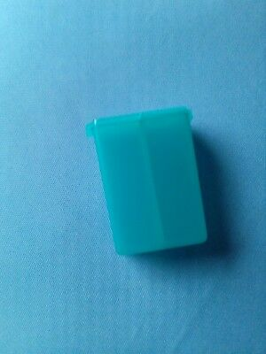 Tupperware salt and pepper shaker Brand New Turquoise Colour Great For Travel