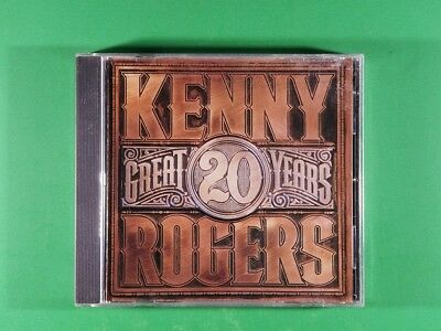 Kenny Rogers - 20 Great Years (1990, CD)