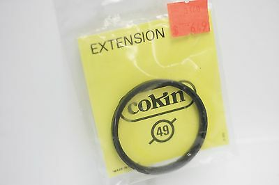 Rare NOS - Cokin 49mm Lens Adapter Extension Ring - Made In France