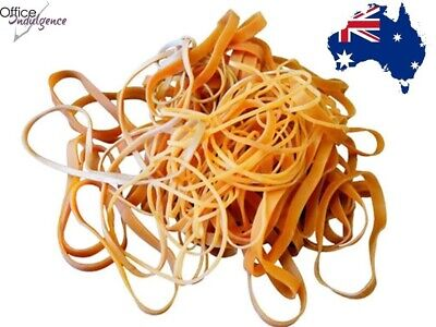 Rubber Bands - One Stop Shopping Sizes No 8 to No 109 25g to 4kg Neutral Colour