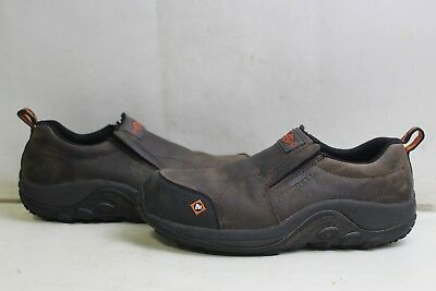 Merrell J15793 Jungle Moc Composite Toe Men's Work Shoe SZ 9M