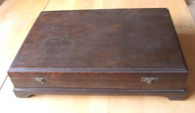 Vintage Wooden Cutlery Canteen Box
