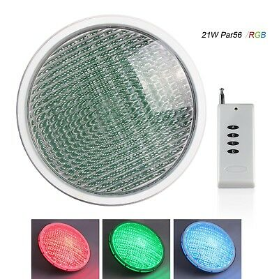 TOPLANET LED Pool Lights Underwater, LED Swimming Pool Lights RGB 21W, IP68 with