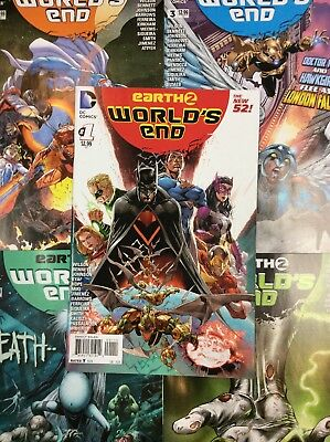 EARTH 2 #1 - 26 WORLDS END DC Comic Book SERIES JUSTICE SOCIETY BATMAN FLASH VF