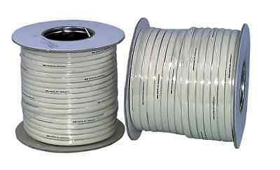 Cable Modular Telephone 4 Way Ivory 100M