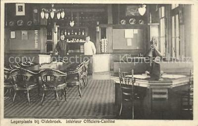 32042721 Oldebroek Gelderland Intérieur Officiers Cantine
