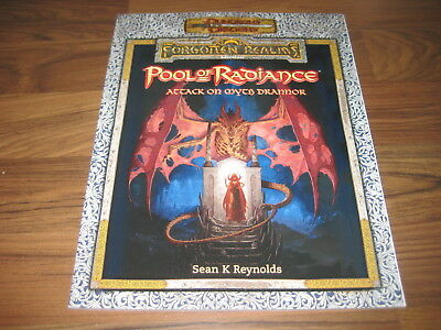 D&D 3.5 Forgotten Realms Pool of Radiance Attack on Myth Drannor WotC New