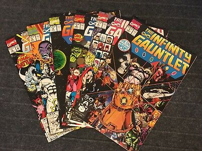 The Infinity Gauntlet Collection Vol. 1 Issues #1-6 Thanos Thor Jim Starlin '91