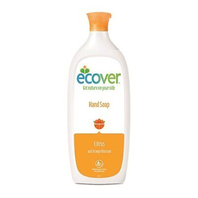 Ecover Mizu Liquid Hand Soap Citrus and Orange Blossom 1 Litrepackaging may var
