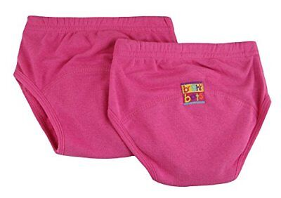 Bright Bots Potty Training Pants Twin Pack, Pink, Medium, 18 - 24 months
