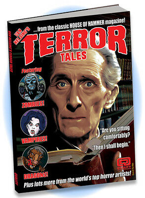 Van Helsing's Terror Tales hardcover - 21 horror shorts from House of Hammer mag