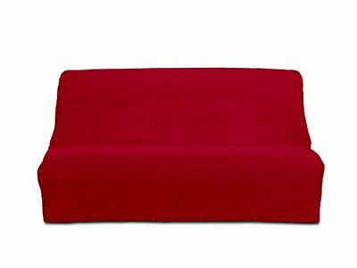 PANAMA cotton clic-clac sofa bed cover - red