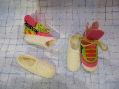 Barbie Doll All-American Pink Reebok cloth Covers/White Tennis Shoes Kira Cristy