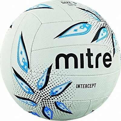 Mitre Intercept Training Netball, Multi-Colour, Size 5