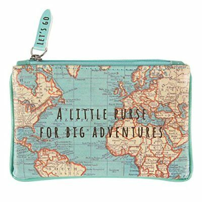 Sass  Belle chc091Small Bag Vintage Map For Great Adventures.