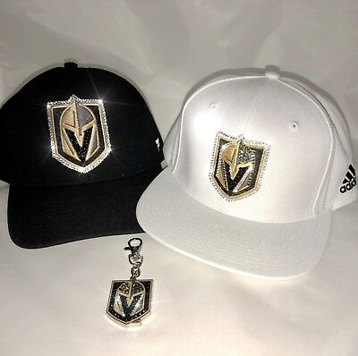 differently 22a5e b8742 ... ireland nhl vegas golden knights adidas hat bling vgk cap with swarovski  crystals be97e cfecb