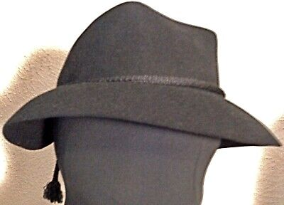 'Dobbs' Early 1950's Bonnet Style Angular Top Crown Gold Stamped 'Five Hundred'